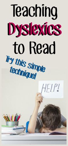 Struggling readers and those with can double their fluency with sight words using this simple word family technique. Dyslexia Activities, Dyslexia Strategies, Dyslexia Teaching, Learning Disabilities, Teaching Strategies, Teaching Tips, Reading Help, Kids Reading, Reading Skills