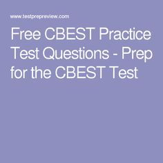 CBEST Study Guide PDF Book By California Teachers Who Passed ...