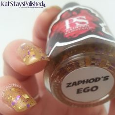 Zaphod's Ego Custom Hand Made Nail Polish by PaintedSabotage, $9.75