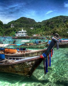 Ko Phi Phi, Thailand. My favorite place is in this world.