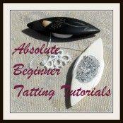 Absolute Beginner Tatting Series  Twenty Easy Lessons #DIY #needlework #shuttle #tat #tatting #tutorial