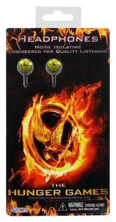 "The Hunger Games Movie ear buds ""Bird Buds"" NECA,http://www.amazon.com/dp/B0074BVBVK/ref=cm_sw_r_pi_dp_kFRbtb0MR6BAXPBP"