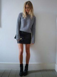 mini-saia-couro-sueter-bota-street-style-inverno