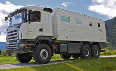 Perfect offroad motor home for families