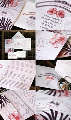 Hawaiian wedding invites, probobly not going to have invitation s but if i do these are it