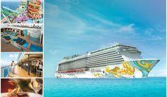 You can win a free cruise on board the Norwegian Getaway.