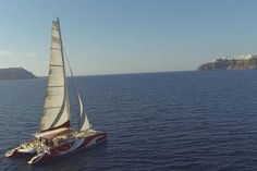Santorini Sailing Dream Catcher with BBQ Lunch and Drinks provided by Santorini Sailing Greece Cruise, Things To Do In Santorini, Surfing Tips, Water Photography, Windsurfing, Big Waves, Boat Plans, Greek Islands, Trip Advisor