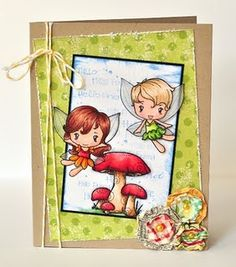 Greeting Farm Card - wonderfully cute ideas for cards.  I just know Leila will love these stamps!