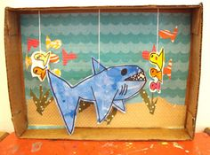 Diorama Art Projects Created by the Students at Small Hands Big Art | Small Hands Big Art Blog