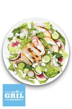 Looking for the perfect sides to accompany your best BBQ mains? Your search stops here! With protein-added options, these versatile salads can easily be enjoyed as mouthwatering mains too. Click or tap photos for these Vinaigrette, Summer Chicken, Grilled Chicken Salad, Best Bbq, Ranch Chicken, Barbecue Recipes, Ranch Dressing, What To Cook, Menu