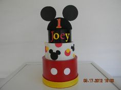 Mickey Mouse Centerpiece. $18.00, via Etsy.
