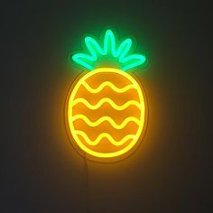 Pineapple - Brite Lite TribeNew Neon - 1