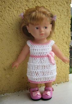robe crochet Mini Corolline