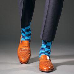 los calcetines son azules