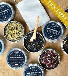 Wild & Organic Tea Sampler