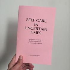 Zine, Self Care in Uncertain Time Gfx Design, Layout Design, Letter Organizer, Art Zine, Collage Drawing, Diys, Diy Letters, Print Layout, Book Projects