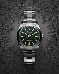 c384526c42e The Oyster Perpetual Milgauss with a sleek black dial.  Rolex