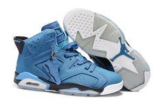 finest selection 57081 67db8 Air Jordan 6 Blue