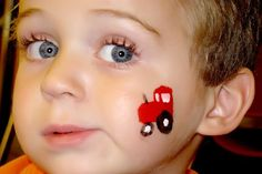 Face Painting by Trish: cheek Face Painting For Boys, Face Painting Designs, Stencil Painting, Body Painting, Easter Face Paint, Diy Face Paint, Cheek Art, Boy Face, Fall Fest