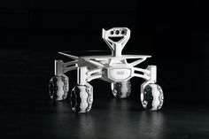 The latest iteration of the Audi lunar Quattro rover and its landing craft are now undergoing extensive testing ahead of a planned visit to the landing site of the Apollo 17 mission late next year. Moon Buggy, Moon Missions, Digital Trends, Transportation Design, Car Manufacturers, Apollo, Supercar, Audi Quattro, German