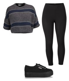 """""""Untitled #121"""" by alessiacaravetta on Polyvore featuring Brunello Cucinelli, Venus, Superga and plus size clothing"""