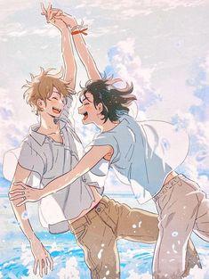 Anime Ai, Fanarts Anime, Anime Films, Anime Manga, Anime Guys, Anime Characters, Wallpaper Animé, Manga Covers, Fan Art