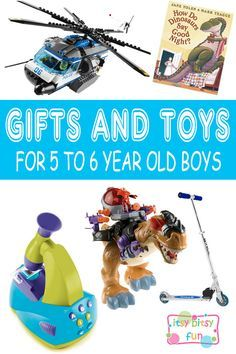 Best Gifts For 5 Year Old Boys. Lots of Ideas for 5th Birthday, Christmas and 5 to 6 Year Olds