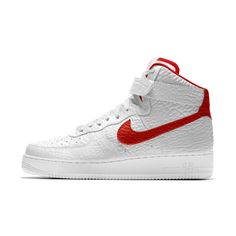 c745a03e6a9d73 Nike Air Force 1 Premium iD (Detroit Pistons) Shoe. Nike.com UK