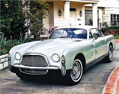 1952 Chrysler Special (Ghia) Maintenance/restoration of old/vintage vehicles: the material for new cogs/casters/gears/pads could be cast polyamide which I (Cast polyamide) can produce. My contact: tatjana.alic@windowslive.com