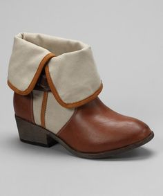 Take a look at this Rust Klaudia Bootie by Bucco on #zulily today! perfect for summer!