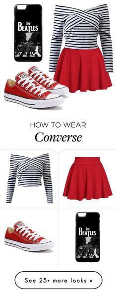 """""""vvv"""" by ayelencruzaguillon on Polyvore featuring Converse"""