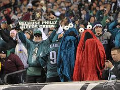 We have some creative fans! #Eagles