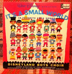 It's a Small World Disneyland Records LP Vinyl by chezToulouse