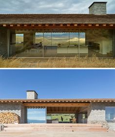 This Mountain House Was Designed To Be A Combination Of A European Chalet And An American Cabin - Anbau Built In Bunks, Casas Containers, Small Loft, Mountain Homes, Modern House Design, Modern Farmhouse, Modern Barn, Building A House, Architecture Design