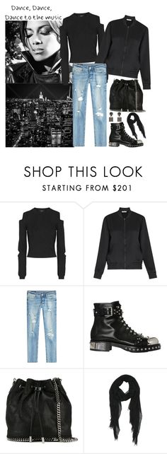 """06.02.2017"" by chrissy6 ❤ liked on Polyvore featuring Nicole, Versus, Whistles, True Religion, Alexander McQueen, STELLA McCARTNEY and Jean-Paul Gaultier"