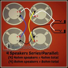 Common guitar cab wiring diagrams