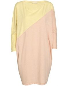 Soft Gallery    Two color jersey dress