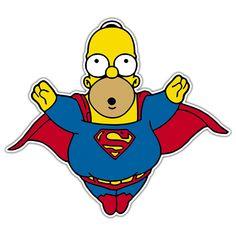Pegatinas: Super Homer
