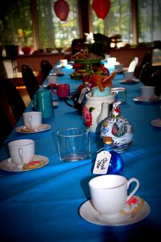 Alice in Wonderland Party Decor #aliceiniwonderland #party