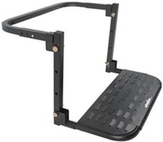 """HitchMate TireStep Adjustable Step for SUVs, RVs and Light Trucks - 22"""" x 10"""" - 400 lbs"""