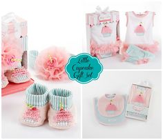 """Little Cupcake"" Baby Gift Set"