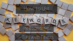Keywords are the most important part of a successful online business. But if you don't know how to use them, they will be pretty useless. Read on to learn what to do with keywords.