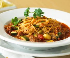 Mexican Chorizo Noodle Bowl:   Chorizo is a fresh sausage that can be mild or spicy-hot. This toss-together dinner in a bowl is packed with lively flavor.
