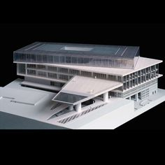 Model : new acropolis museum, athens bernard tschumi Maquette Architecture, Form Architecture, Architecture Model Making, School Architecture, Layout, Bernard Tschumi, 3d Modelle, Arch Model, Library Design