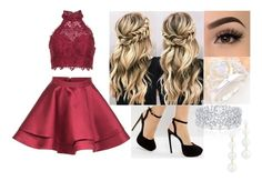 """Untitled #535"" by tinacutie on Polyvore featuring Alyce Paris, ASOS, Rebecca Minkoff and Graff"