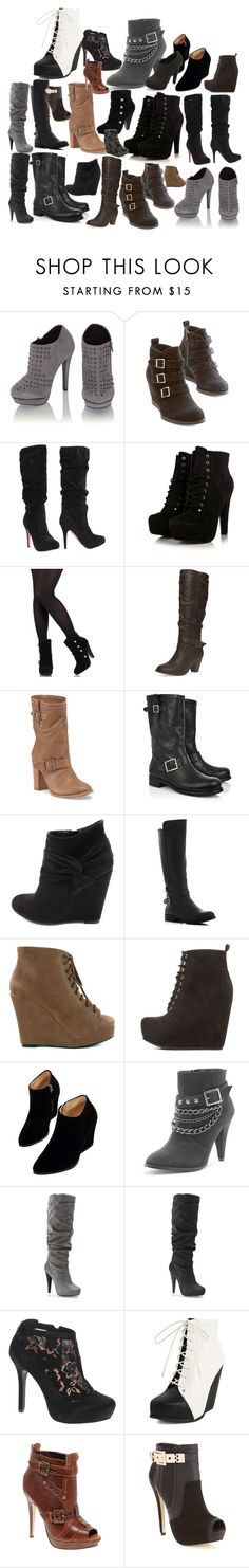 """""""The Vampire Diaries: Thalia Gilbert [shoes]"""" by grandmasfood ❤ liked on Polyvore featuring INC International Concepts, Chelsea Crew, Fahrenheit, Dorothy Perkins, Jimmy Choo, Charlotte Russe, MIA, Nly Shoes, WithChic and Michael Antonio"""