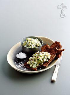 Avocado & Linfrø & Rugbrød - Se flere spennende yoghurtvarianter på yoghurt.no - Et inspirasjonsmagasin for yoghurt.