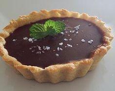 Torta de chocolate com flor de sal
