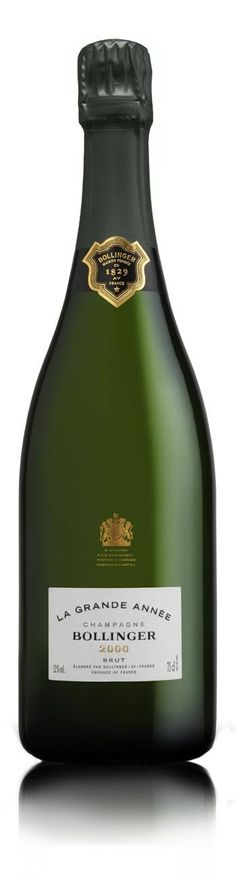 Champagne Bollinger La Grande Annee. We're married, and on our dream honeymoon...let's CELEBRATE!