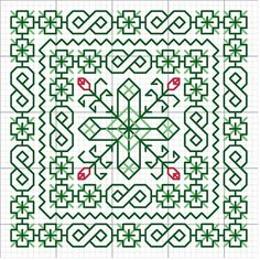 <3 Cross-stitch Biscornu... no color chart available, just use the pattern chart as your color guide.. or choose your own colors ...
